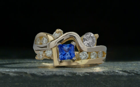 Remodelled Sapphire Ring