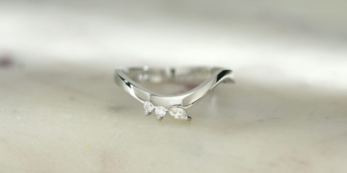 Swish Diamond Ring