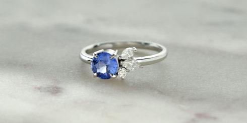 Blue Moon Sapphire Ring