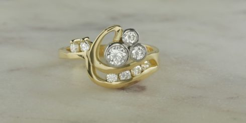 Remodelled Diamond Ring