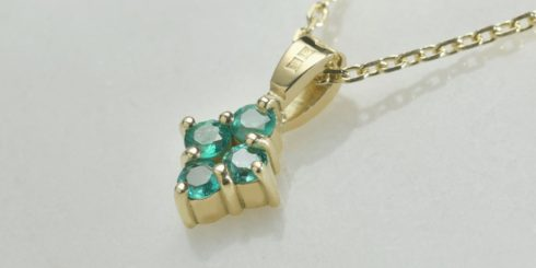 Remodelled Emerald Pendant